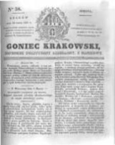 Goniec Krakowski: dziennik polityczny, liberalny i naukowy. 1831.03.12 nr58