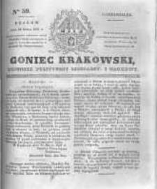 Goniec Krakowski: dziennik polityczny, liberalny i naukowy. 1831.03.14 nr59
