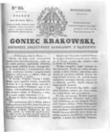 Goniec Krakowski: dziennik polityczny, liberalny i naukowy. 1831.03.21 nr65