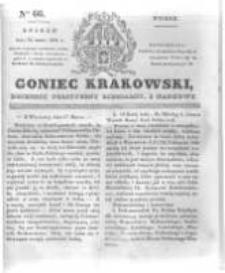Goniec Krakowski: dziennik polityczny, liberalny i naukowy. 1831.03.22 nr66