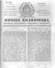 Goniec Krakowski: dziennik polityczny, liberalny i naukowy. 1831.03.24 nr68