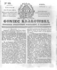 Goniec Krakowski: dziennik polityczny, liberalny i naukowy. 1831.03.26 nr69