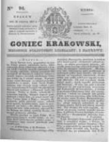 Goniec Krakowski: dziennik polityczny, liberalny i naukowy. 1831.04.26 nr94