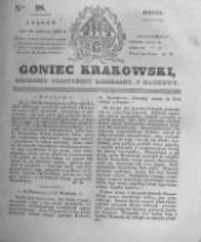 Goniec Krakowski: dziennik polityczny, liberalny i naukowy. 1831.04.30 nr98