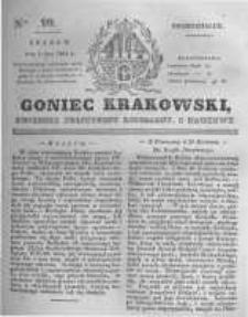 Goniec Krakowski: dziennik polityczny, liberalny i naukowy. 1831.05.02 nr99