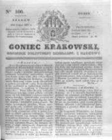 Goniec Krakowski: dziennik polityczny, liberalny i naukowy. 1831.05.03 nr100