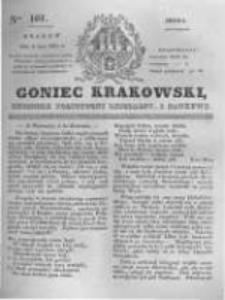 Goniec Krakowski: dziennik polityczny, liberalny i naukowy. 1831.05.04 nr101