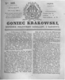 Goniec Krakowski: dziennik polityczny, liberalny i naukowy. 1831.05.06 nr103