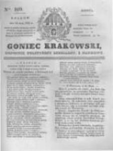 Goniec Krakowski: dziennik polityczny, liberalny i naukowy. 1831.05.14 nr109