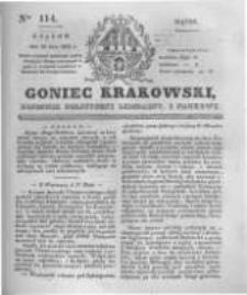 Goniec Krakowski: dziennik polityczny, liberalny i naukowy. 1831.05.20 nr114