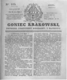 Goniec Krakowski: dziennik polityczny, liberalny i naukowy. 1831.05.21 nr115