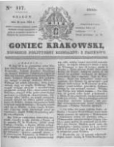 Goniec Krakowski: dziennik polityczny, liberalny i naukowy. 1831.05.25 nr117