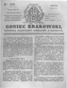 Goniec Krakowski: dziennik polityczny, liberalny i naukowy. 1831.05.27 nr119