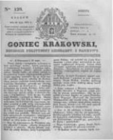 Goniec Krakowski: dziennik polityczny, liberalny i naukowy. 1831.05.28 nr120