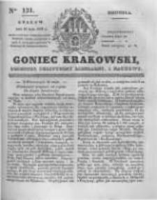 Goniec Krakowski: dziennik polityczny, liberalny i naukowy. 1831.05.29 nr121