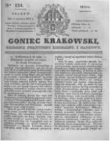 Goniec Krakowski: dziennik polityczny, liberalny i naukowy. 1831.06.01 nr124