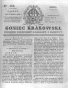 Goniec Krakowski: dziennik polityczny, liberalny i naukowy. 1831.06.11 nr132