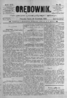 Orędownik: pismo poświęcone sprawom politycznym i spółecznym. 1886.04.23 R.16 nr93