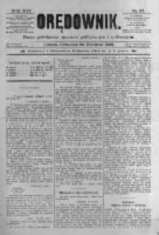 Orędownik: pismo poświęcone sprawom politycznym i spółecznym. 1886.04.29 R.16 nr97
