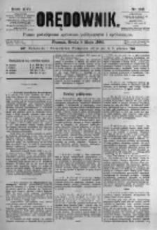 Orędownik: pismo poświęcone sprawom politycznym i spółecznym. 1886.05.05 R.16 nr102