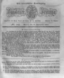 Breslauer Zeitung. 1831.09.19 Nr219