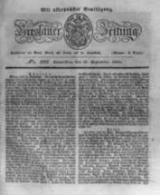 Breslauer Zeitung. 1831.09.22 Nr222