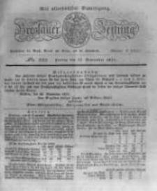 Breslauer Zeitung. 1831.09.23 Nr223