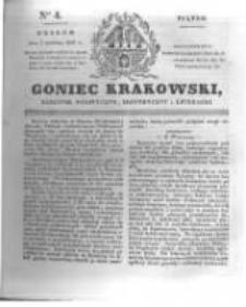 Goniec Krakowski: dziennik polityczny, historyczny i literacki. 1831.01.07 nr4
