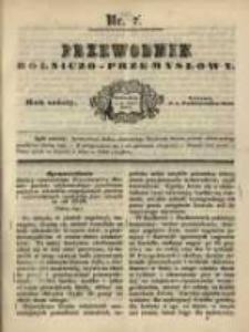 Przewodnik Rolniczo-Przemysłowy. 1842-1843 R.6 Nr7