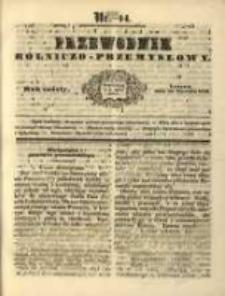Przewodnik Rolniczo-Przemysłowy. 1842-1843 R.6 Nr14