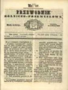 Przewodnik Rolniczo-Przemysłowy. 1842-1843 R.6 Nr17