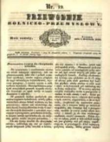 Przewodnik Rolniczo-Przemysłowy. 1842-1843 R.6 Nr19
