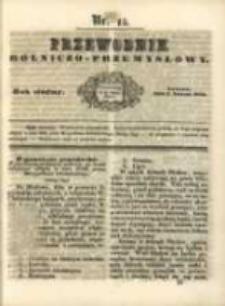 Przewodnik Rolniczo-Przemysłowy. 1843-1844 R.7 Nr15