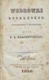 Wędrówki literackie: fantastyczne i historyczne. T. 3