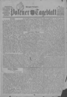 Posener Tageblatt 1898.01.01 Jg.37 Nr1