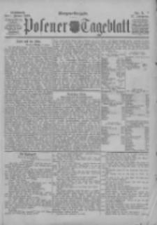 Posener Tageblatt 1898.01.05 Jg.37 Nr5