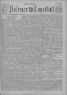 Posener Tageblatt 1898.01.14 Jg.37 Nr22