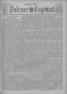 Posener Tageblatt 1898.01.22 Jg.37 Nr36