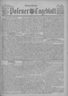 Posener Tageblatt 1898.01.25 Jg.37 Nr39