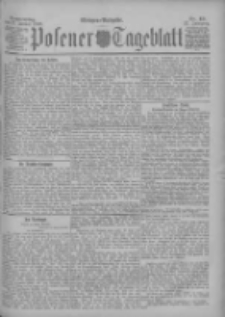 Posener Tageblatt 1898.01.27 Jg.37 Nr43