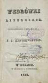 Wędrówki literackie: fantastyczne i historyczne. T. 1