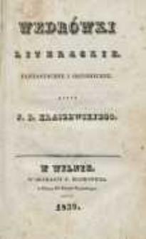 Wędrówki literackie: fantastyczne i historyczne. T. 2