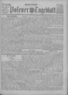 Posener Tageblatt 1898.05.05 Jg.37 Nr207