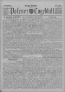 Posener Tageblatt 1898.06.25 Jg.37 Nr291