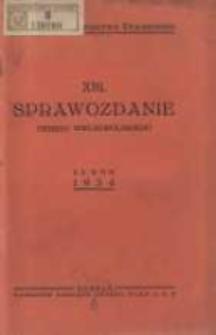 Sprawozdanie Okręgu Wielkopolskiego za rok 1934