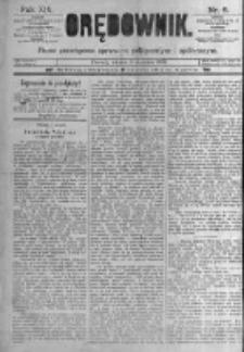 Orędownik: pismo poświęcone sprawom politycznym i spółecznym. 1889.01.08 R.19 nr6