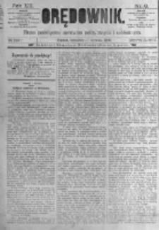 Orędownik: pismo poświęcone sprawom politycznym i spółecznym. 1889.01.10 R.19 nr8
