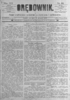 Orędownik: pismo poświęcone sprawom politycznym i spółecznym. 1889.01.17 R.19 nr14