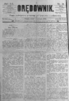 Orędownik: pismo poświęcone sprawom politycznym i spółecznym. 1889.01.19 R.19 nr16