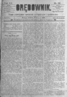 Orędownik: pismo poświęcone sprawom politycznym i spółecznym. 1889.01.27 R.19 nr23